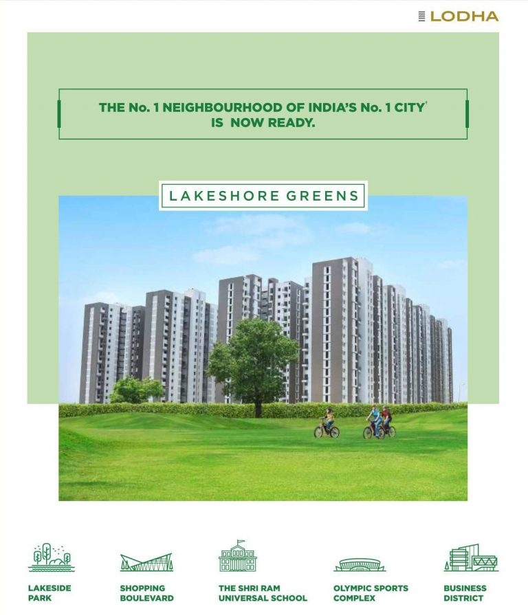 1,2 & 3 bhk homes in palava