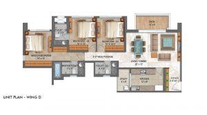 lodha serenity palava-1,2 & 3 bhk flats for sale