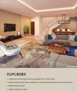 Duplex home in lodha serenity palava