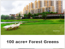 1,2 & 3 BHK homes @ 42.5 L in palava