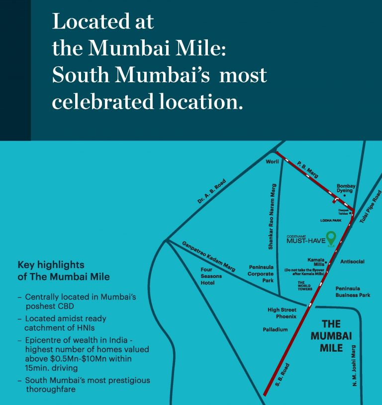 commercial & office Space at 1.59 Crin Lower Parel.